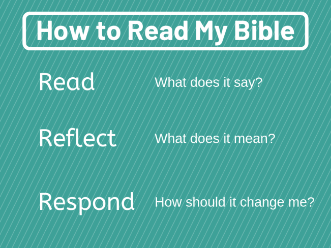 How to Read My Bible